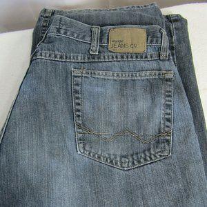 Wrangler Men's Loose Jeans Distressed 38X30